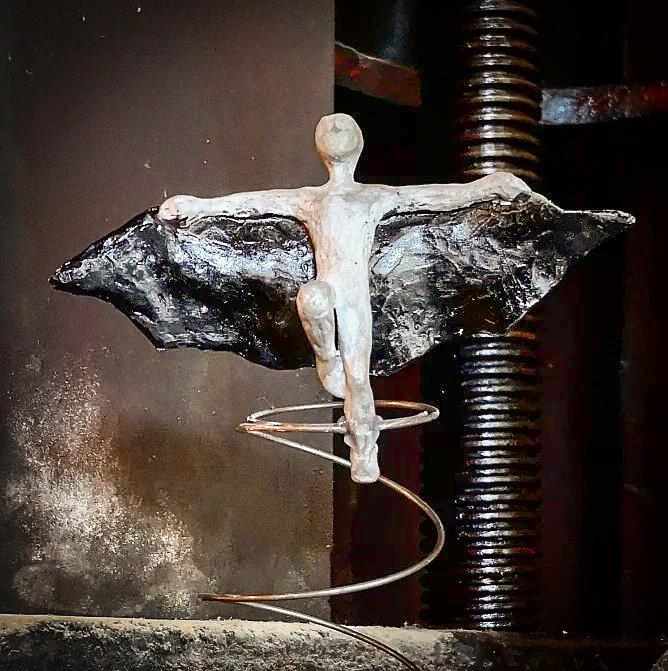 Bettmann Andreas Magera Skulpteur Ausstellung Havixbeck